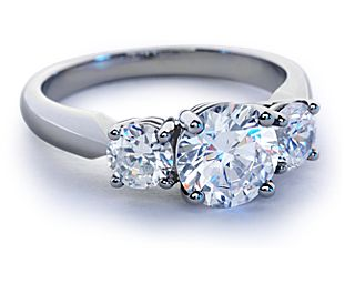 build your own three stone ring - Build Your Own Wedding Ring
