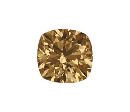 0.28-Carat Brown Cushion Cut Diamond by Blue Nile