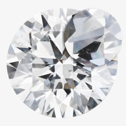 Slightly Included Diamond
