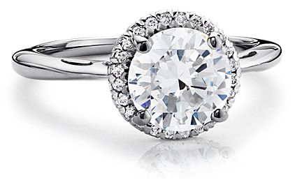 Blue Nile Diamond Ring