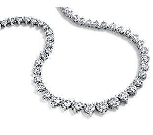 Diamond Necklaces, Pendants, and Chains - Choose From Platinum ...