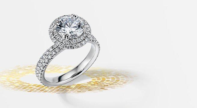 Blue Nile Diamond Jewelers Engagement Wedding Rings Fine Jewelry