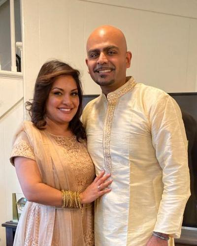 Portrait of Imran and Rehana