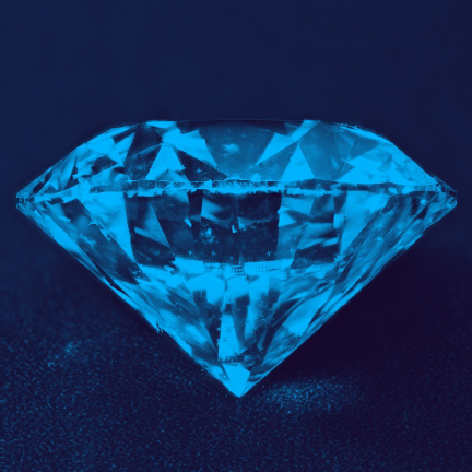 Fluorescent or Non-Fluorescent Diamonds