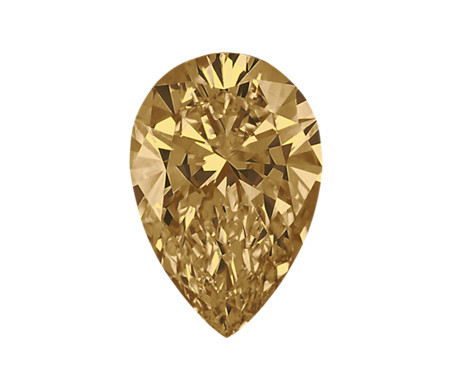 0.46-Carat Brown Pear Shaped Diamond by Blue Nile
