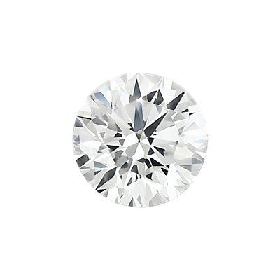 0.30 克拉淡灰圆形切割钻石