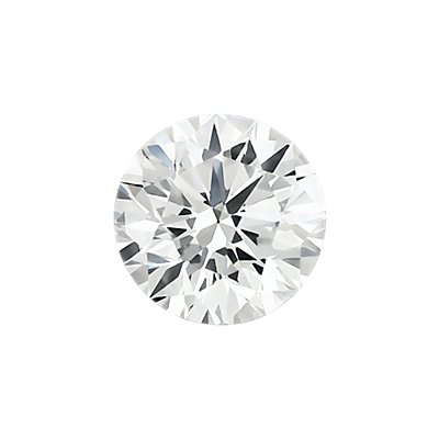 0.30-Carat Faint  Grey Round Cut Diamond