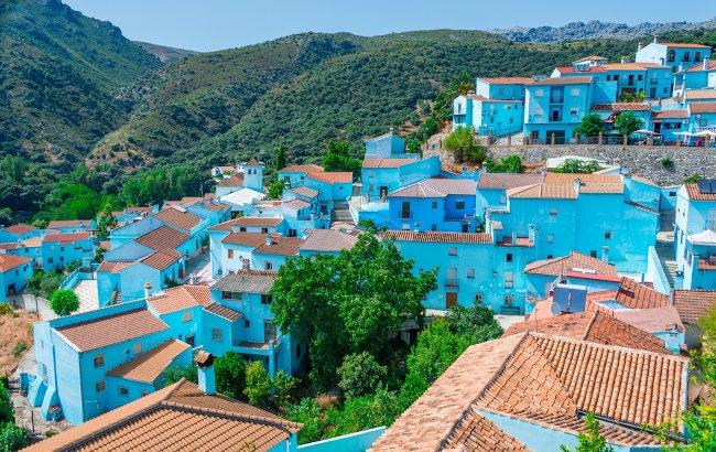 Paint the town blue.