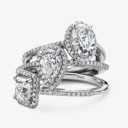 光环订婚戒指