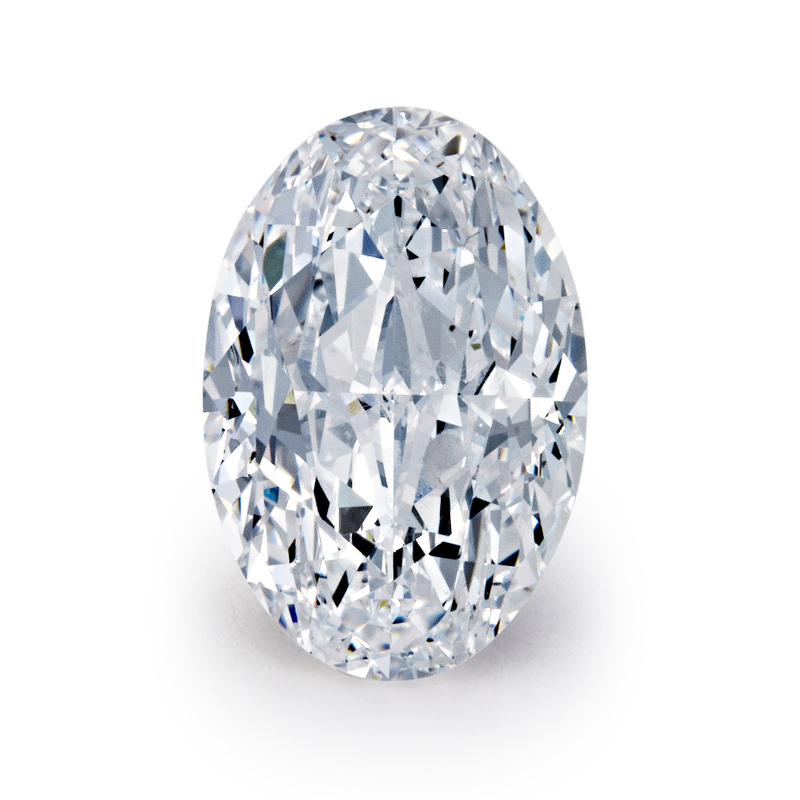 1.01 carat Oval Diamond, Very Good cut, graded by the GIA laboratories.
