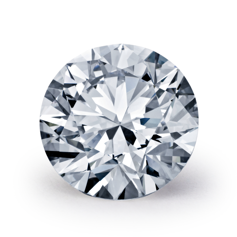 .41 carat Round Diamond, Ideal cut, graded by the GIA laboratories.