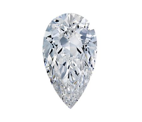 Sample top view of diamond