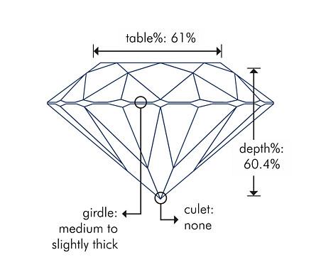 Diagrama de vista lateral
