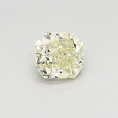 0,44-Carat Light Yellow Radiant Cut Diamond