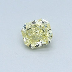 0,44-Carat Intense Yellow Radiant Cut Diamond