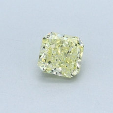 0.42-Carat Yellow Radiant Cut Diamond