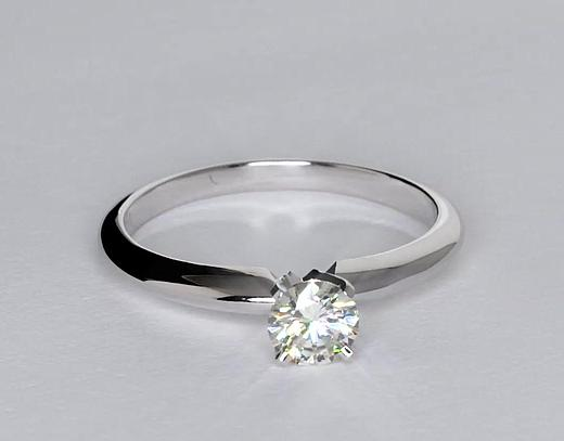 0.5 Carat Classic Four Prong Engagement Ring