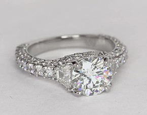 vr silver cz bling antique ring engagement bridal sterling jewelry rings carat