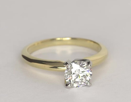 0.8 ct. Round F-Color, IF-Clarity, Signature Ideal-Cut