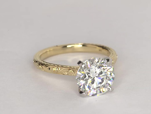 3.28 ct. Round H-Color, VVS2-Clarity, Ideal-Cut
