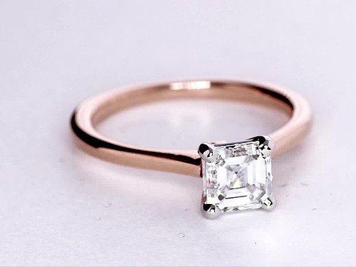 1.1 Carat Petite Solitaire Engagement Ring