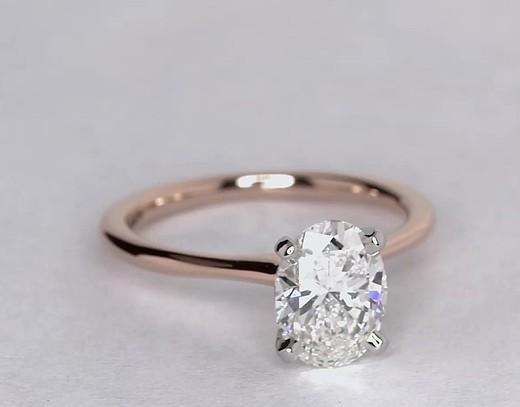 1.5 Carat Petite Solitaire Engagement Ring