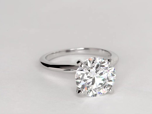 3.55 ct. Round I-Color, VS2-Clarity, Ideal-Cut