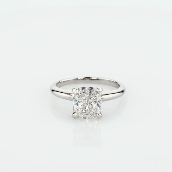 2.2 Carat Classic Four Claw Solitaire Engagement Ring