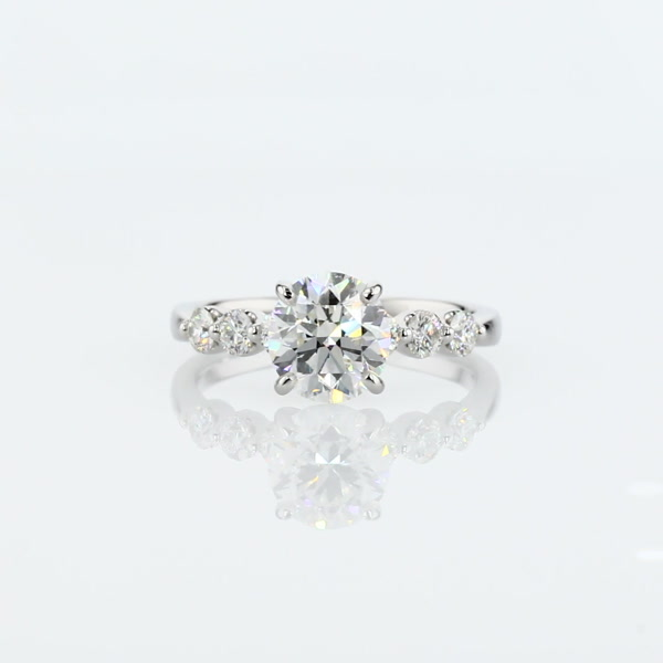 1.29 Carat The Gallery Collection™ Floating Diamond Engagement Ring