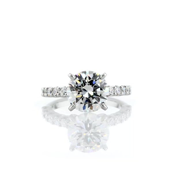 3.01 Carat Luna Diamond Engagement Ring