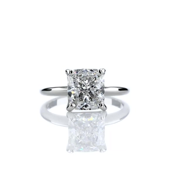 3.01 Carat Classic Four Claw Solitaire Engagement Ring