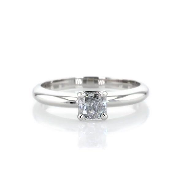 0.5 克拉經典四爪單石訂婚戒指及結婚戒指