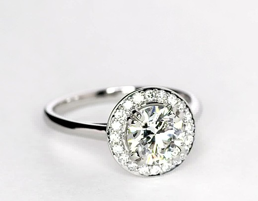 1.06 ct. Round F-Color, IF-Clarity, Signature Ideal-Cut
