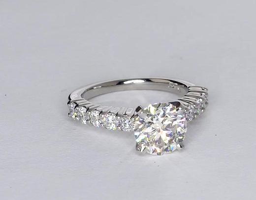 2.01 Carat Bella Diamond Engagement Ring