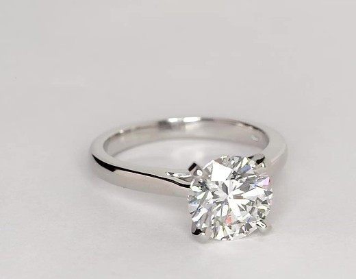 2.05 ct. Round H-Color, SI1-Clarity, Ideal-Cut