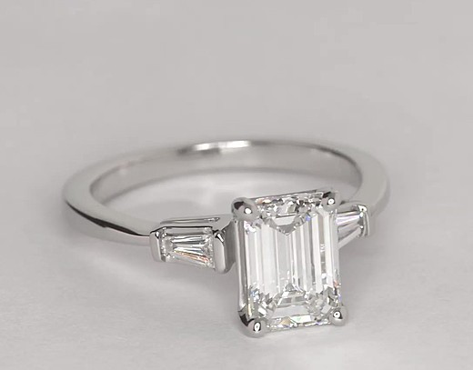 1.5 ct. Emerald-Cut F-Colour, IF-Clarity, Very Good-Cut