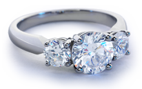 The Perfect Three-Stone Ring