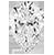 Aretes de diamantes en forma de pera en oro blanco de 14 k (1/2 qt. total)
