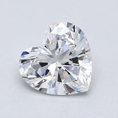 Piedra recomendada 1: Forma de corazón de 0.94 quilates