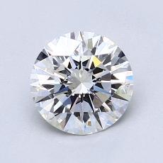 推荐宝石 3:1.18克拉圆形切割钻石