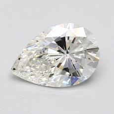 推荐宝石 2:1.12 克拉梨形切割钻石