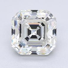 Recommended Stone #3: 2.22-Carat Asscher Cut Diamond