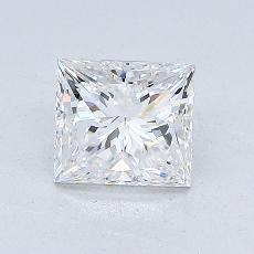 オススメの石No.4:1.00カラットプリンセスカットダイヤモンド