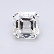 Pierre recommandée n°4: Diamant taille Asscher 0,92 carat