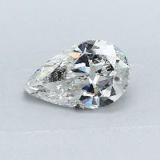 Recommended Stone #3: 1,12-Carat Pear Cut Diamond