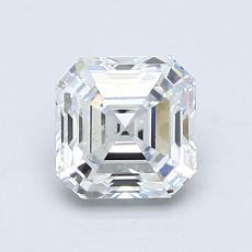 Recommended Stone #1: 0.80-Carat Asscher Cut Diamond