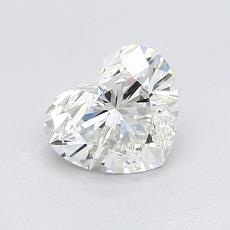 Recommended Stone #1: 0,94-Carat Heart Cut Diamond