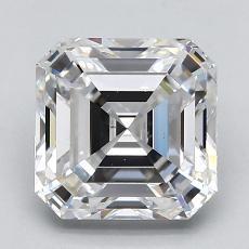 Pierre recommandée n°2: Diamant taille Asscher 2,31 carat