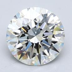 Recommended Stone #4: 2.54-Carat Round Cut