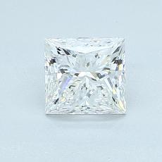 1.01 Carat プリンセス Diamond ベリーグッド E VVS2